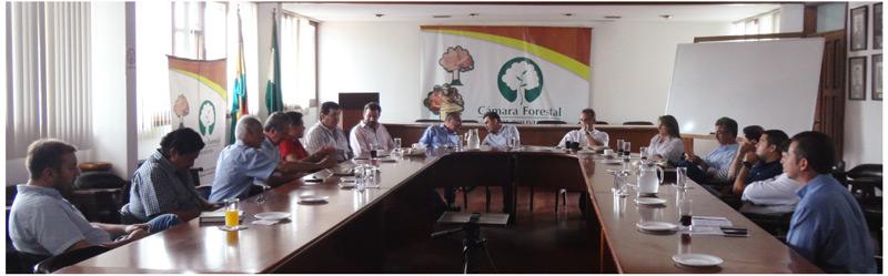 Importante reunión sobre plantaciones forestales en la CFB
