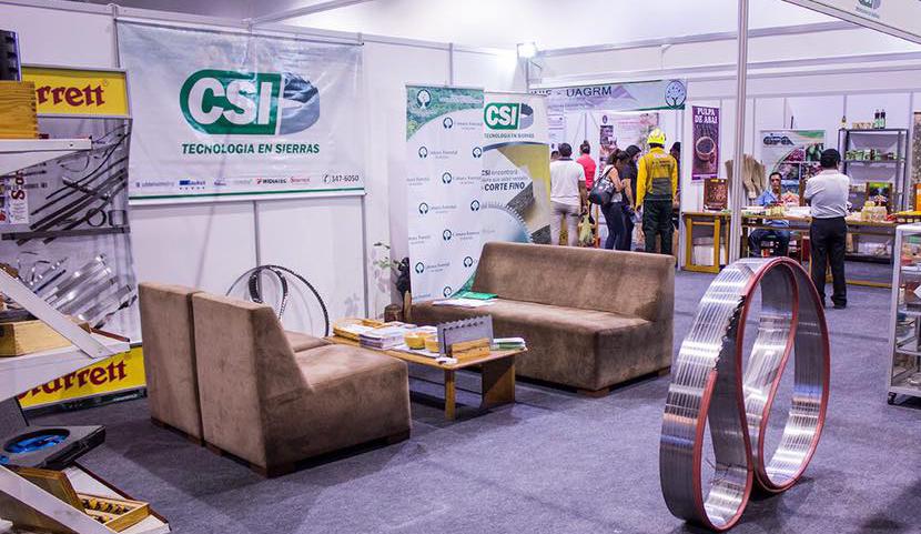 Fundeforest, Con el Centro de Servicios Industriales CSI, presentó sus productos de corte de madera.