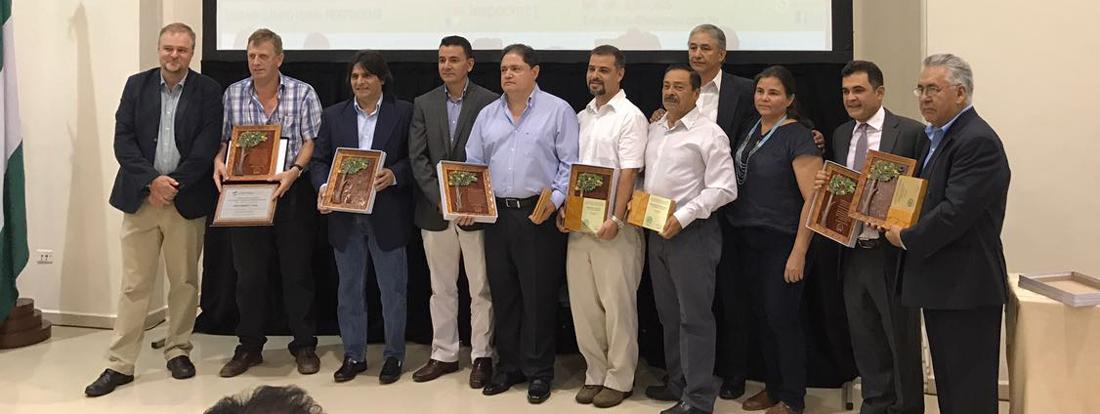 La Expoforest premió a las empresas forestales por el buen manejo forestal realizado