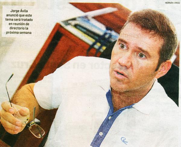 """Calificó como un atropello a la Constitución Política del Estado el pedido de la ABT al INRA de crear un registro de la ocupación de las tierras en El Choré y Guarayos para convertirlas en """"Reservas integrales de bosque"""". Considera que ello se debe a compromisos políticos. Foto: El Deber"""
