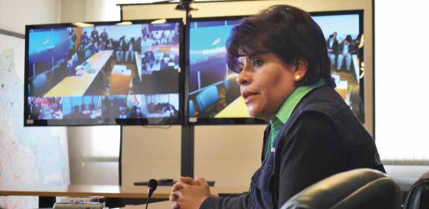 Lic. Marlene Ardaya Vásquez, Presidenta ADUANA NACIONAL DE BOLIVIA (ANB)