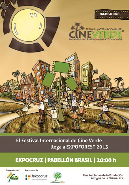 El Festival Internacional de Cine Verde llega a EXPOFOREST 2015