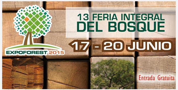 Expoforest 2015 será del 17 al 20 de junio