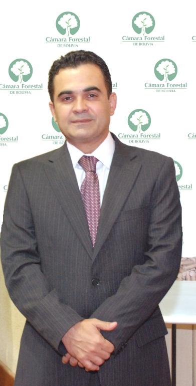 Lic. Pedro Colanzi, Presidente de la Cámara Forestal de Bolivia 2016-2017