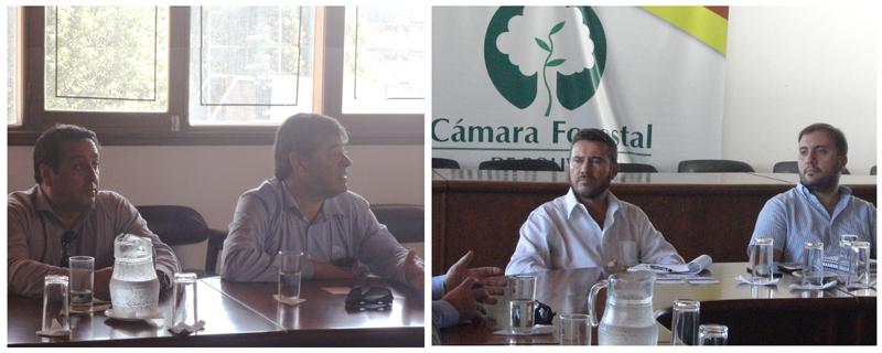 Comitiva chilena, la Corporación de Desarrollo de Tarapacá, la Empresa Portuaria Iquique y la Zona Franca Iquique S.A