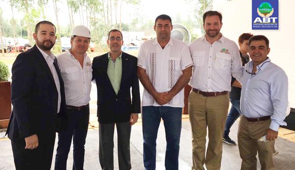 Delegación Forestal Boliviana participa de la Inauguración de Moderna Planta de Procesamiento de Madera Reforestada en Paraguay