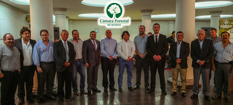 Directorio Cámara Forestal de Bolivia 2018 - 2020