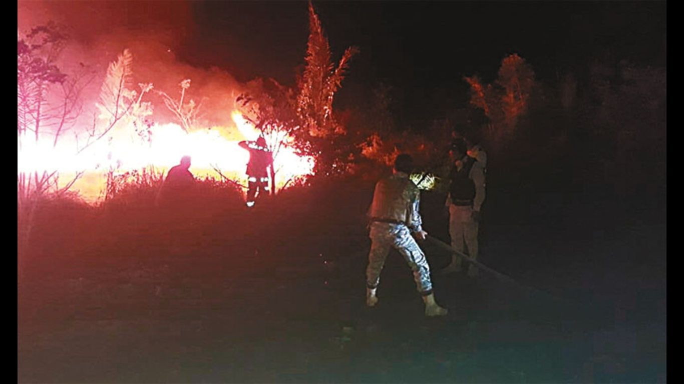 El 58% del departamento de Santa Cruz está en riesgo extremo de sufrir incendios