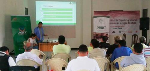 ABT socializa Estrategias de Desarrollo y Manejo Sustentable de Bosques y Tierra en el Chaco