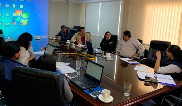 El día jueves 22 de agosto la Cámara Forestal de Bolivia visitó el Banco de Desarrollo Productivo en la ciudad de La Paz