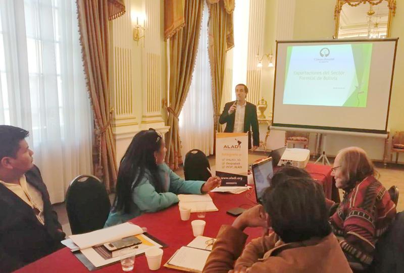 La Cámara Forestal de Bolivia estuvo presente en el taller de capacitación
