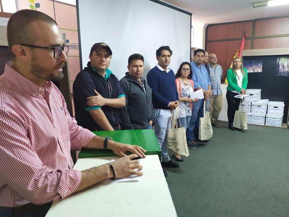 A la cabeza de Adrian Bojanic, nuevo Director General Ejecutivo, se estableció la línea de trabajo con un equipo renovado, en la cual FONABOSQUE se plantea como principal objetivo la restauración de los bosques en la #Chiquitania