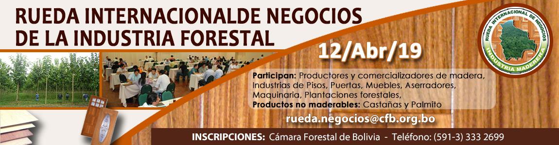 Rueda Internacional de Negocios de la Industria Forestal 2019
