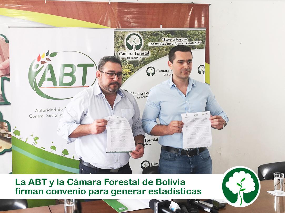 CONVENIO INTERINSTITUCIONAL SOBRE INFORMACIÓN Y ESTADÍSTICAS FORESTALES DE BOLIVIA