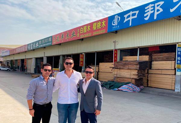 Forestales bolivianos pactan ventas a China. Foto: CFB Viaje de Mision a China