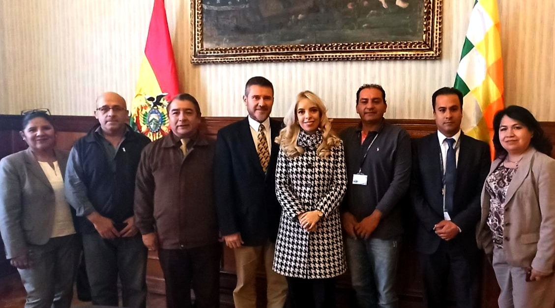 Bolivia ante la posibilidad en breve de poder tener las mejores condiciones comerciales legales y técnicas para poder exportar a la Unión Europea sin ningún tipo de restricciones.