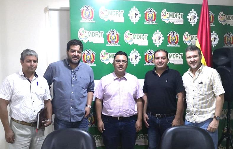 La CFB junto al Gobierno y Senasag avanzando en plantaciones forestales y CITES