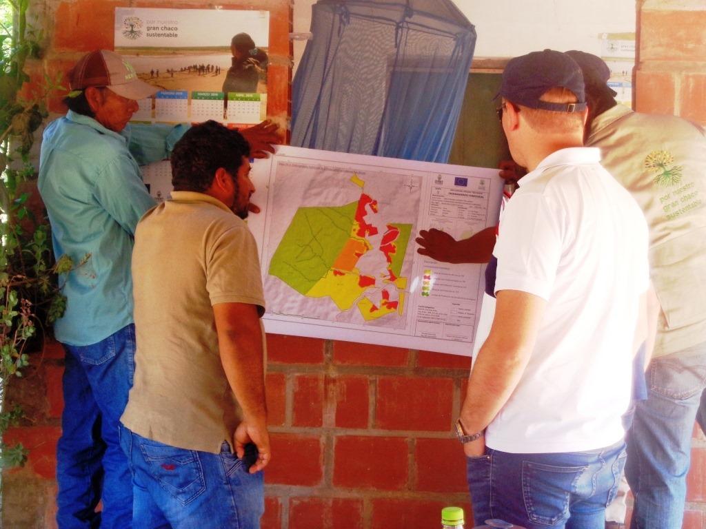 Se elaboró el plan en función de las características del lugar y para organizar el territorio de la población, por ejemplo determinar dónde se realizará la agricultura, dónde se establecerán las acciones de protección y el sistema ecológico