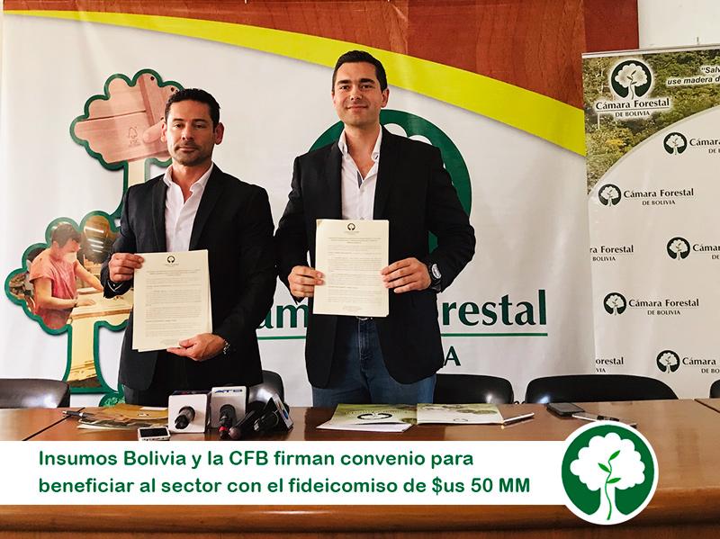 Fideicomiso de $us 50 millones beneficiará con créditos a clientes internacionales del sector forestal