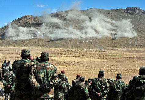 La demostración congregará a cuadros militares en un número de 750 efectivos de las tres fuerzas, entre jefes, oficiales, suboficiales y sargentos.
