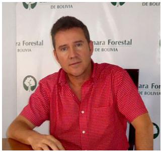 Jorge E. Avila, Gerente General de la Cámara Forestal de Bolivia