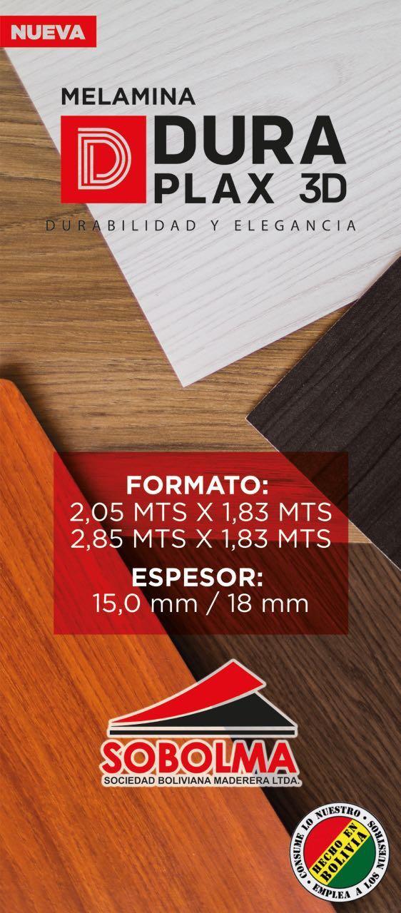 SOBOLMA invierte en una nueva planta de melamínicos y se coloca en la vanguardia de los fabricantes de tableros en Bolivia
